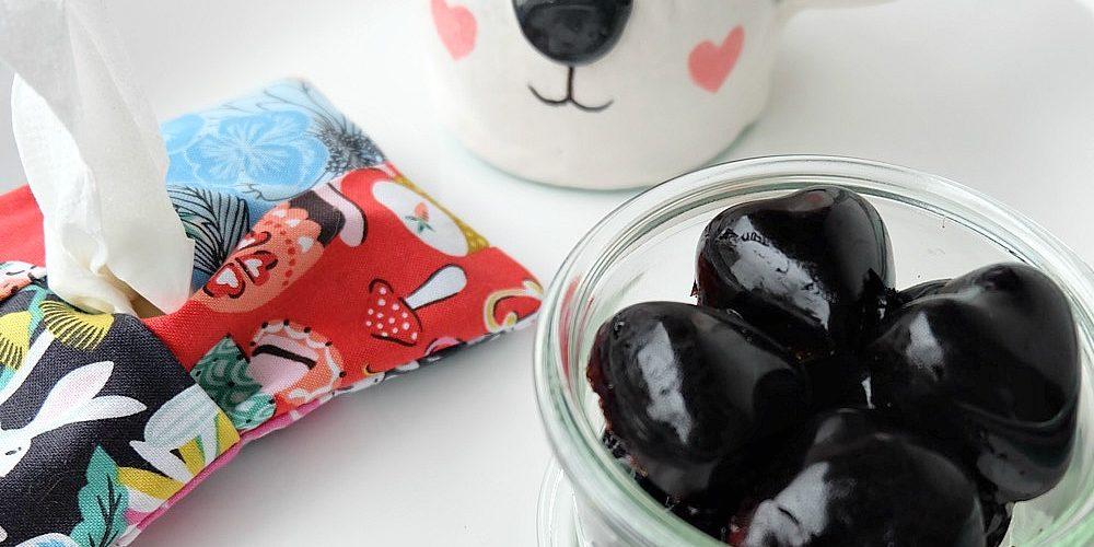 Easy Homemade Cold Fighting Elderberry Gummies Recipe