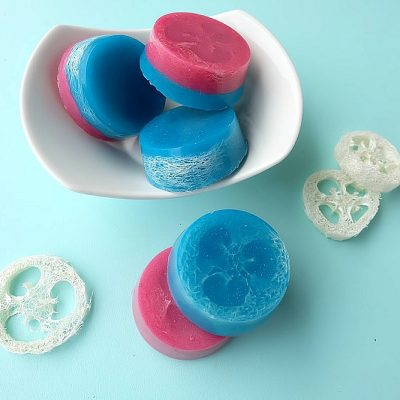 How To Make DIY Loofah Soap- Easy Handmade Gift Idea