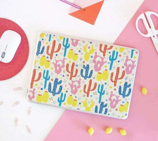 37+ Handmade Gift Ideas For Mom That She's Guaranteed To Love: DIY Laptop Skin from Persia Lou