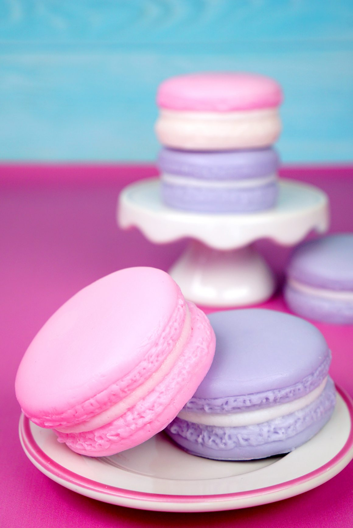 37+ Handmade Gift Ideas For Mom That She's Guaranteed To Love: DIY Macaron Soap from Happiness Is Handmade