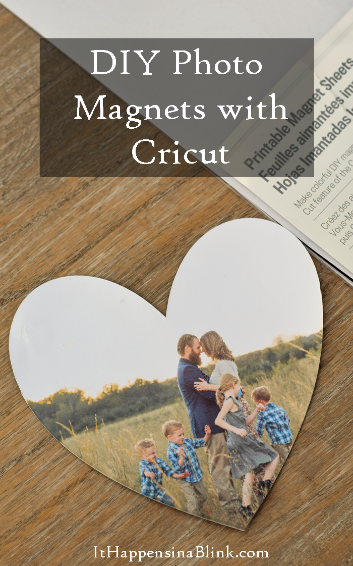 37+ Handmade Gift Ideas For Mom That She's Guaranteed To Love: DIY Photo Magnets from It Happens In A Blink