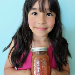 Tips For Canning With Kids + Easy Italian Herb Canned Tomatoes Recipe