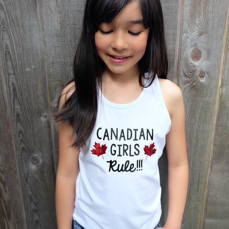 13 Free Canada Day SVGs Perfect For Making Shirts With Your Cricut or Silhouette