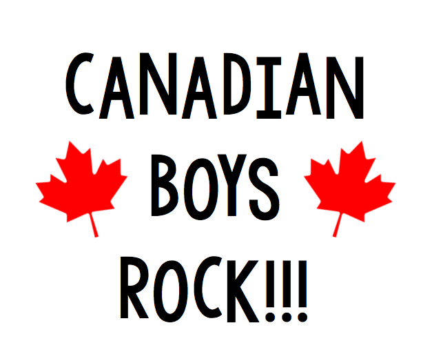 Canadian Boys Rock Free Canada Day SVG file for Cricut or Silhouette