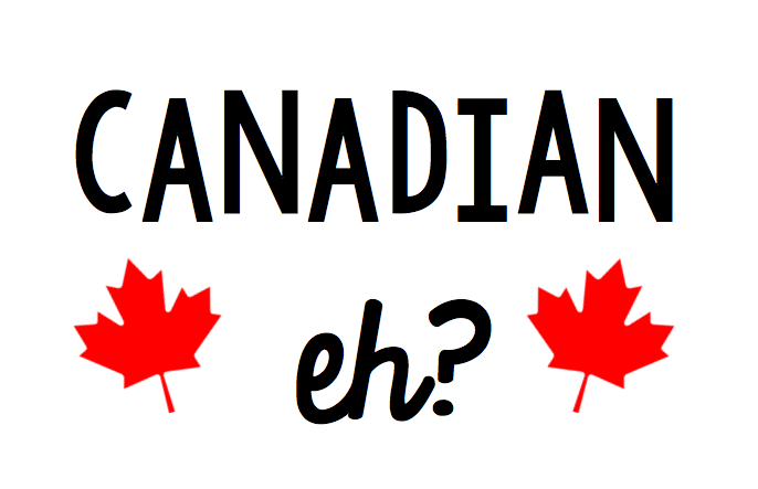 Canadian Eh Free Canada Day SVG file for Cricut or Silhouette