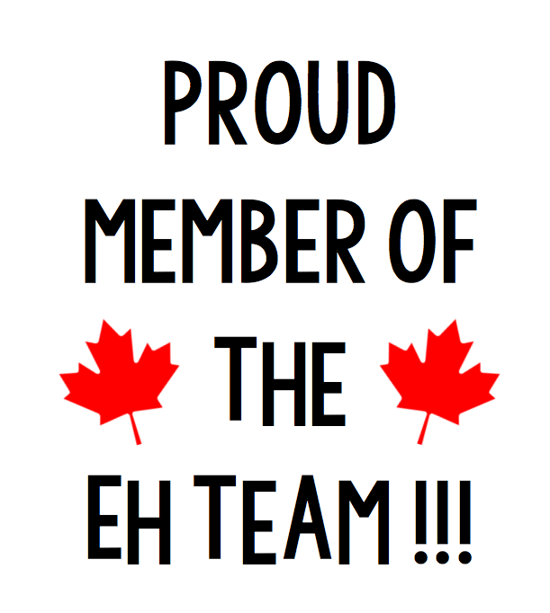 Proud Member Of The Eh Team Free Canada Day SVG file for Cricut or Silhouette