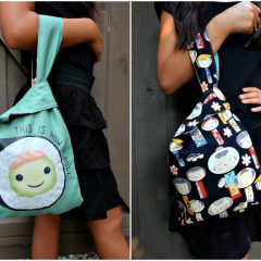 Free DIY Reversible Japanese Knot Bag Pattern and Sewing Tutorial For The Cricut Maker