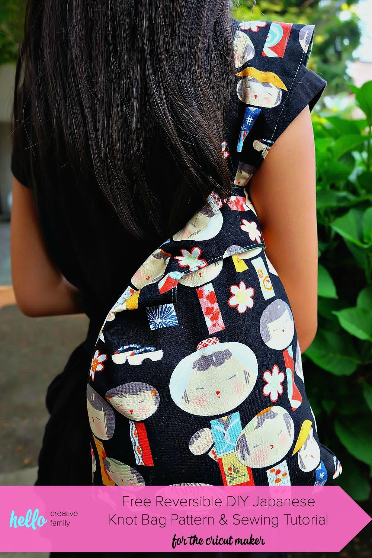 Japanese Knot BagKnitting Bag     A sewing theme