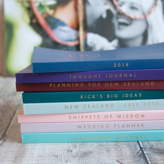Handmade School Supplies & Accessories You'll Love: Personalized Foiled Notebook from And So They Made