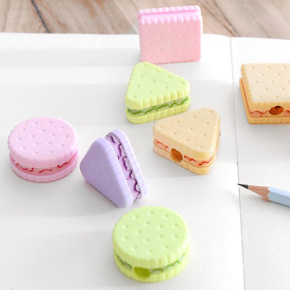 School Accessories You'll Love: Sweet Cookies Pencil Sharpener from Caribou Milk