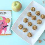 Caramel Apple No Bake Energy Bites Recipe- Nut Free, School Friendly!
