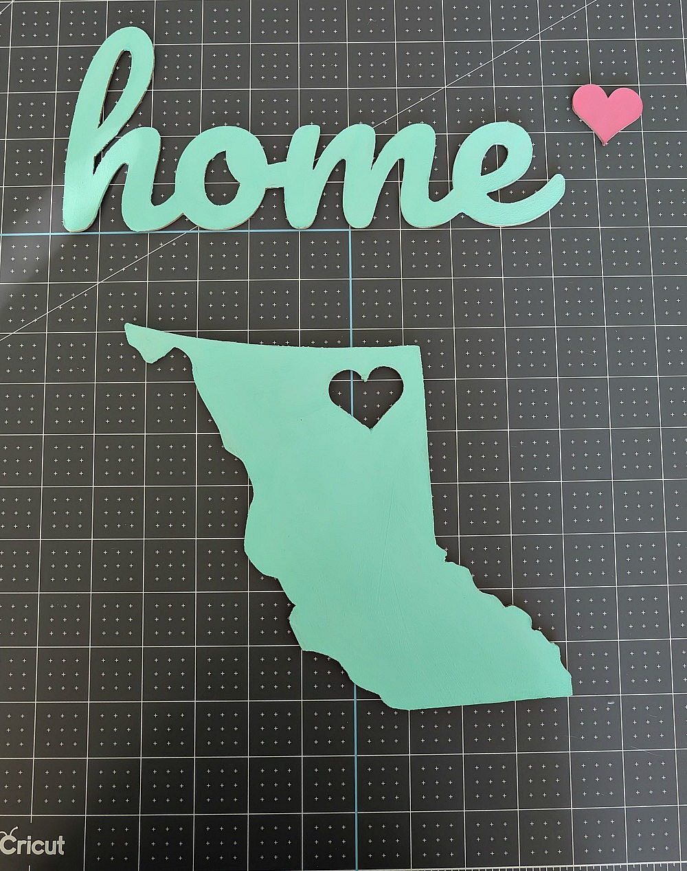 How To Make A Diy Chipboard Home Sign Using The Cricut