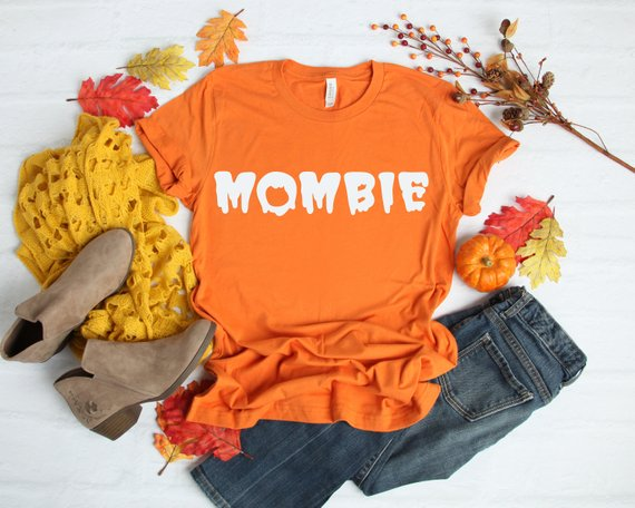 Awesome Halloween SVG Ideas: Mombie SVG Frole from Angela Brooks Personalized Gifting