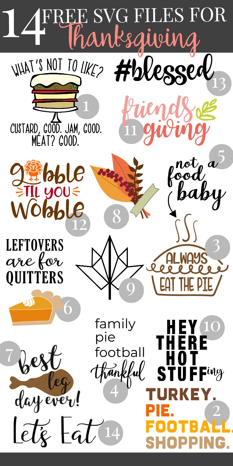 Free Svg File Blessed Thanksgiving Svg Blog Hop Hello Creative Family