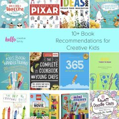 10+ Books That Make Great Gifts For Creative Kids Recommended by Hello Creative Family