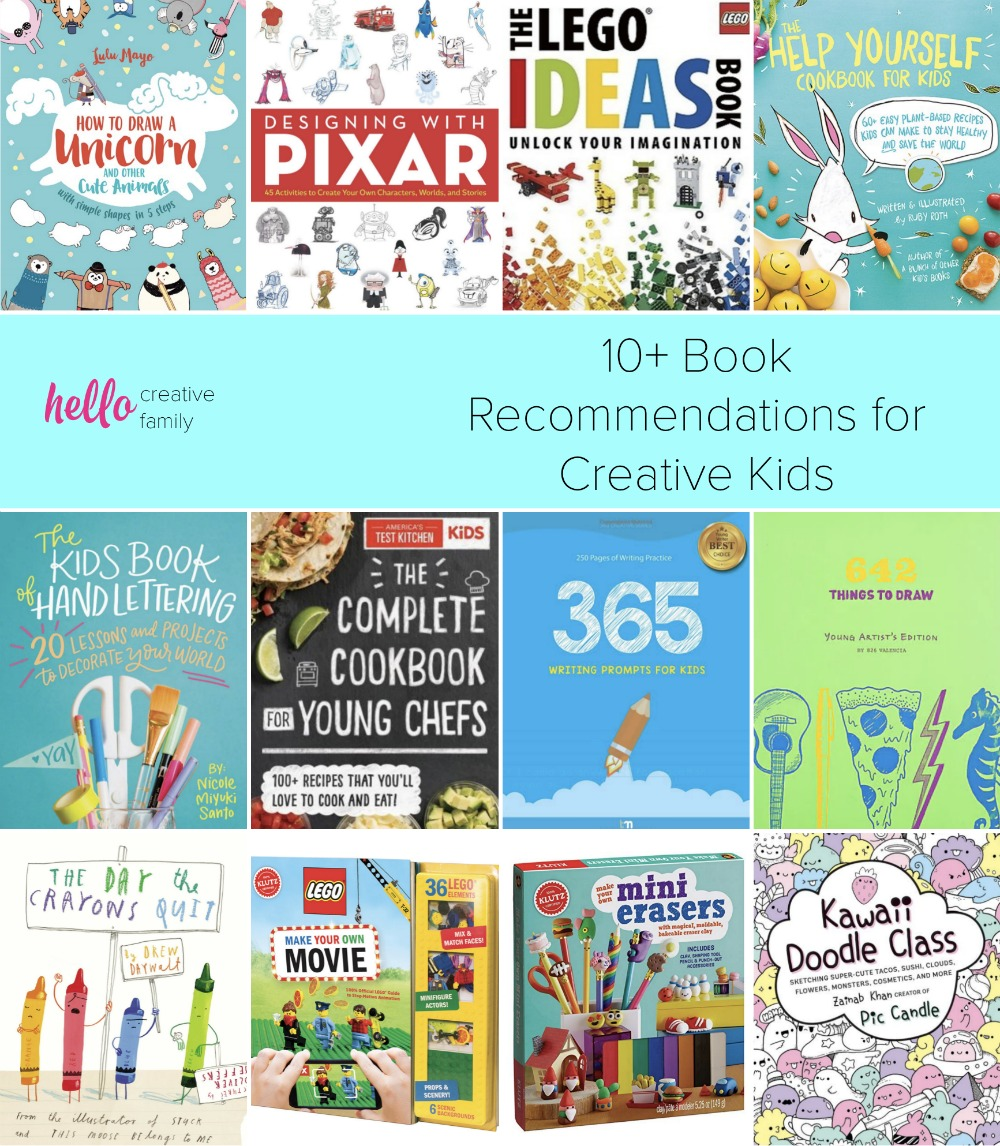 10 Books That Make Great Gifts For Creative Kids Recommended By
