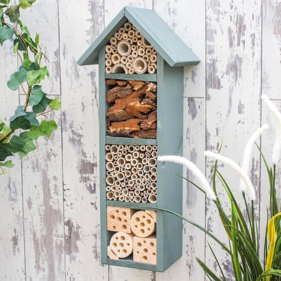 Shop Handmade Holiday Gift Guide: 4 Tier Bee Hotel from Wudwerx