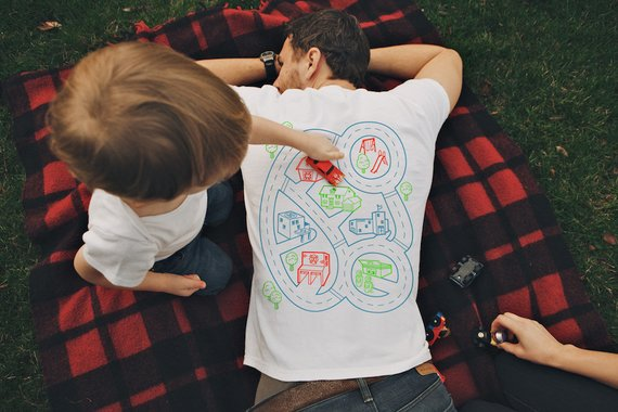 Shop Handmade Holiday Gift Guide: Car Play Mat Shirt from byk kid
