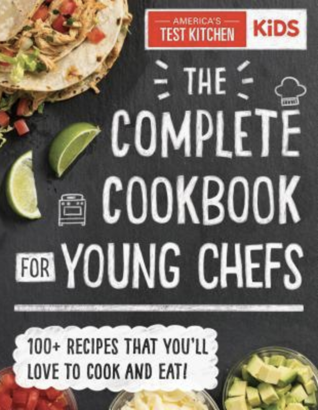 10 Book Recommendations for Creative Kids:America's Test Kitchen The Complete Cookbook For Young Chefs