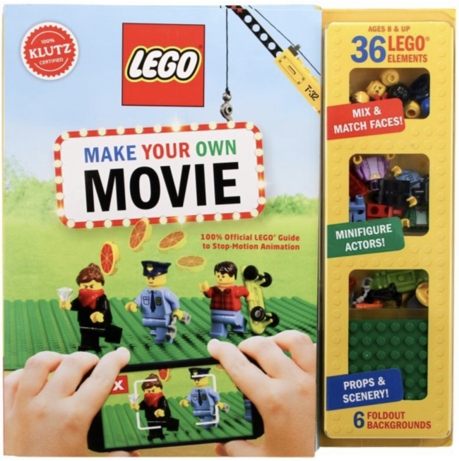 10 Book Recommendations for Creative Kids:Klutz Lego Make Your Own Movie