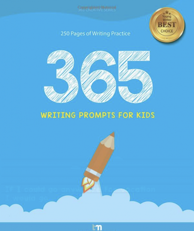 10 Book Recommendations for Creative Kids: 365 Writing Prompts for Kids