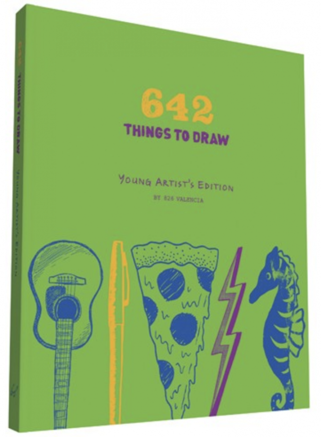 10 Book Recommendations for Creative Kids: 642 Things To Draw: Young Artists Edition
