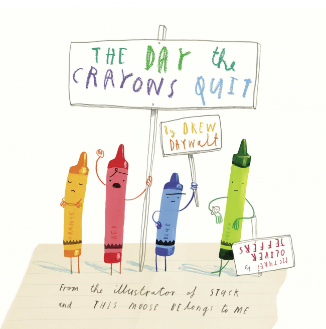 10 Book Recommendations for Creative Kids: The Day The Crayons Quit