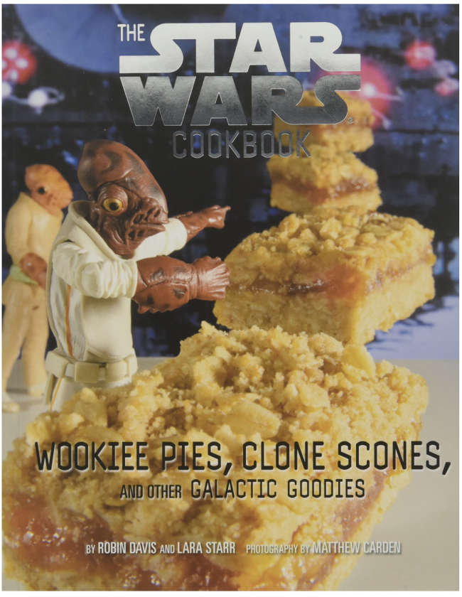 10 Book Recommendations for Creative Kids: The Star Wars Cookbook: Wookiee Pies, Clone Scones, and Other Galactic Goodies