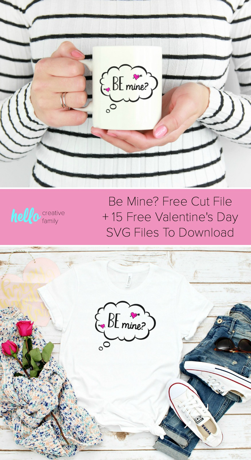 Free Valentine S Day Svg Files For Your Cricut Or Silhouette Hello