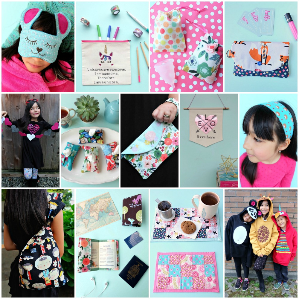 Cricut Sewing Projects with Free patterns to cut using your Cricut Maker!