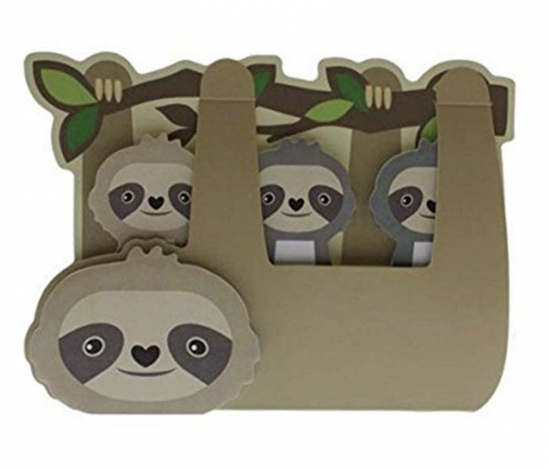 Sloth Crafts, Printables, SVG's DIY's, Food and Gift Ideas: Sloth Sticky Memo Tabs from Amazon