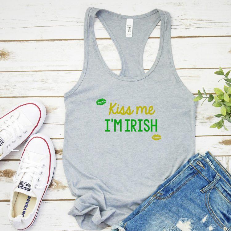 Free St Patricks Day SVG- Kiss Me I'm Irish