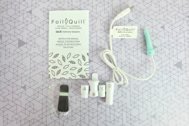 How To Use a We R Memory Keepers Foil Quill With Your Cricut