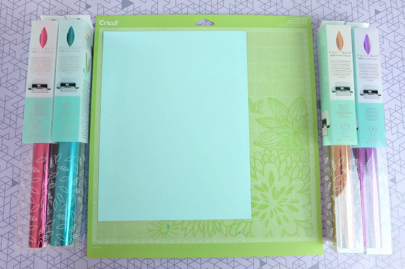 How To Use a We R Memory Keepers Foil Quill With Your Cricut: step-by-step photos and instructions from unboxing, to setup, to completing your first project! It's foiling made easy! Give your DIY paper crafts an embossed look with this amazing tool! #Cricut #CricutMade #FoilQuill #Mink #Foiling #Craft