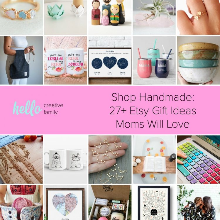 Shop Handmade: 27+ Gift Ideas Moms Will Love