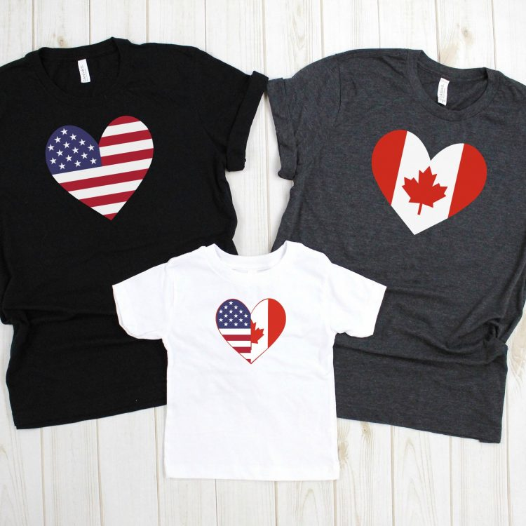 16 Free Canada Day and Fourth of July SVG Files + Cricut EasyPress Giveaway!