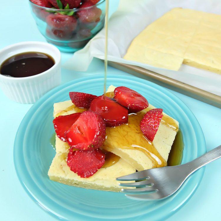 Easy Sheet Mochi Pancakes Recipe