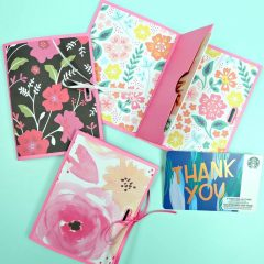 Easy DIY Gift Card Holders Made With The Cricut