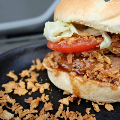 Hawaiian Turkey Burger Recipe + My Secret For The Juiciest Turkey Burger You've Ever Eaten