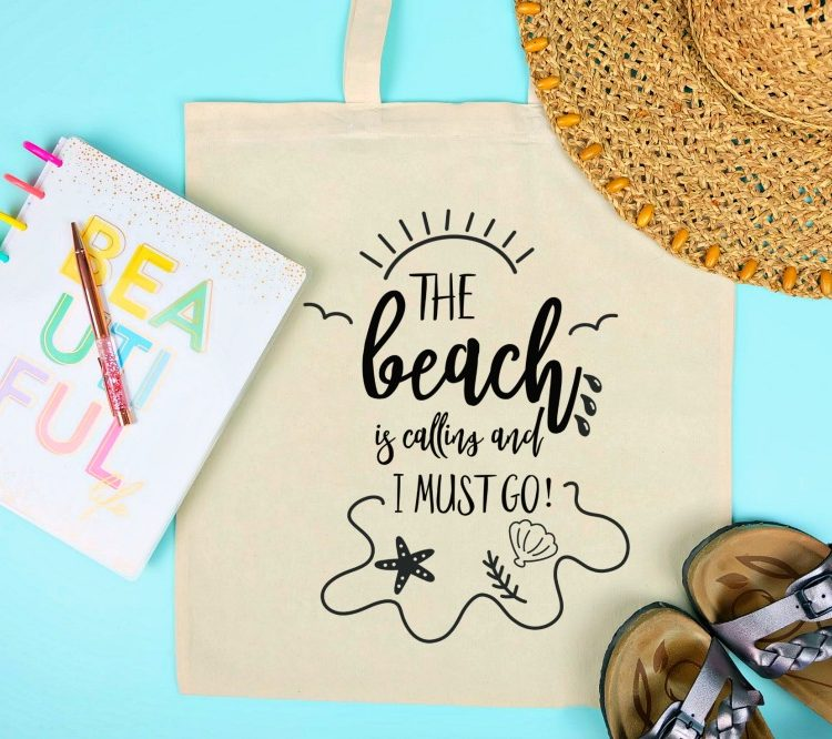 14 Free Beach SVG Cut Files Including The Beach Is Calling