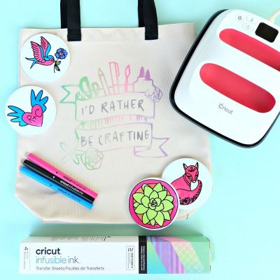 Everything You Need To Know To Use Cricut Infusible Ink on Coasters and Tote Bags