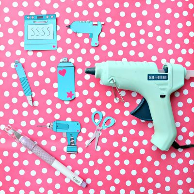 DIY Craft Tool Stickers With Free Printable