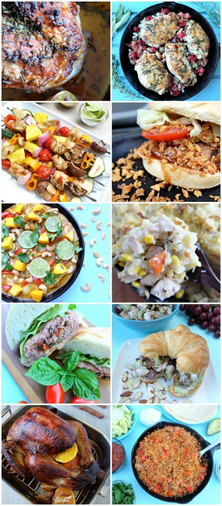 10 Delicious and Family Friendly Turkey Recipes perfect for Thanksgiving or easy weeknight meals from Hello Creative Family