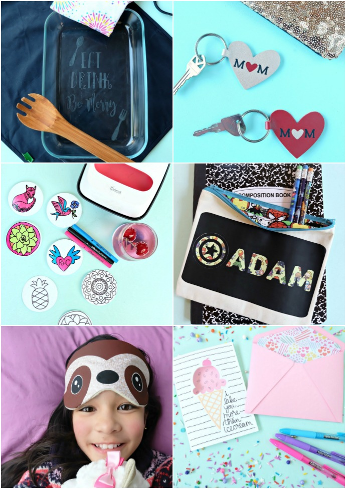 Awesome handmade gift Cricut Projects from Hello Creative Family. #Cricut #CricutMade #handmadegifts