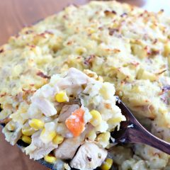 Leftover Turkey Shepherds Pie Recipe + Batch Cooking With Turkey