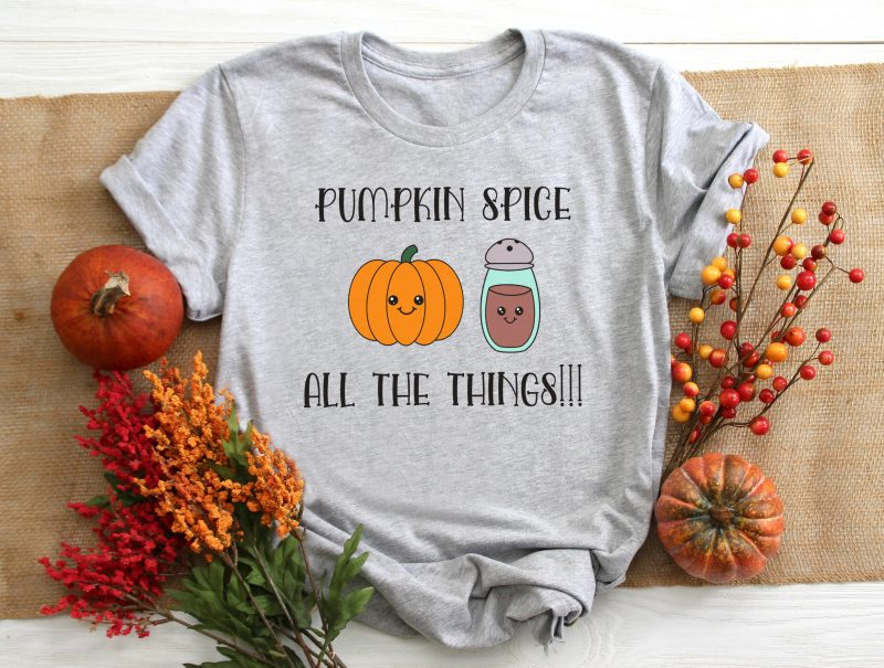 Fall is here and that means pumpkin spice! We're sharing 14 free SVG cut files for fall including a too adorable to be missed Kawaii Pumpkin Spice cut file! Cut these autumn designs using your Cricut or Silhouette. #SVG #Cricut #Silhouette #CutFiles