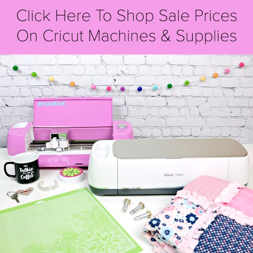 Find the best deals on Cricut machines and supplies!