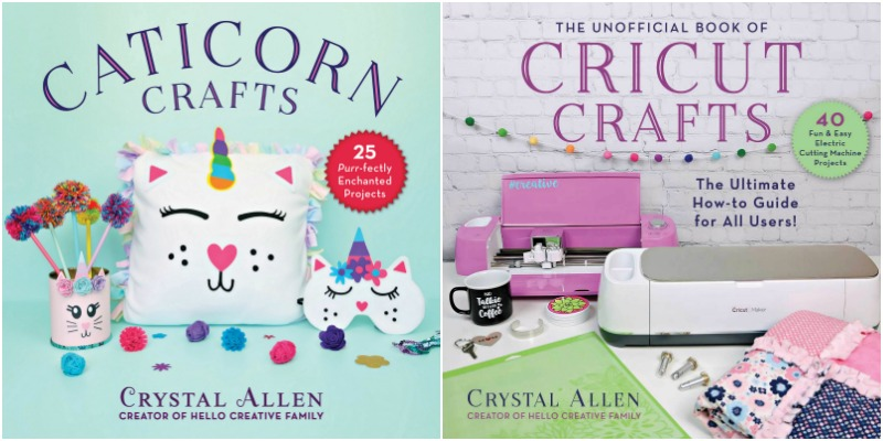 Caticorn Crafts and Cricut Crafts by Crystal Allen from Hello Creative Family