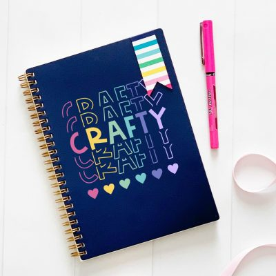 Get out those Cricut Makers, Cricut Explores and Silhouette Cameos and GET CRAFTING! We're sharing 13 free craft svg files including our Rainbow Crafty cut file! Perfect for DIY shirts, mugs, journals and more! #Cricut #Silhouette #CutFile #FreeSVG #SVG #Crafts #DIY