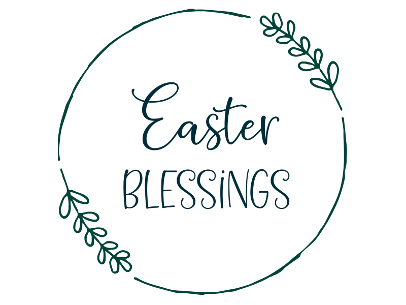 We're making Easter crafting easy! Find 13 free religious Easter cut files that you can cut using your Circuit Maker, Circuit Explore or Silhouette Cameo including an Easter Blessings svg file! Use them for all kinds of Easter crafts from shirts. to signs, to Easter cards! #Easter #EasterCrafts #CricutCrafts #Cricut #Silhouette